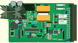 3D eines Steckkarten Prototyps